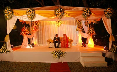 Wedding Stage Decoration Photos
