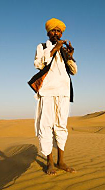 Costumes for Rajasthani Men, Costumes of Rajasthan