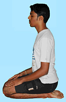 Vajrasana - Yoga Asana in Daily Life