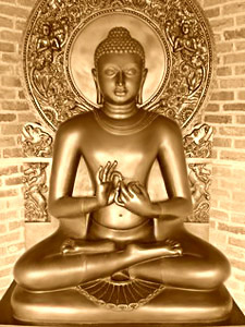 Gautam Buddha - Mudras and Meditation