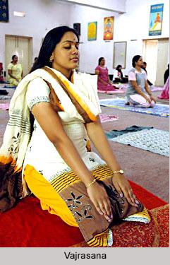 Yoga Asana - Vajrasana