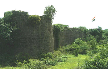 The fort of Ahmadnagar