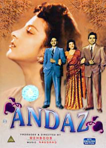 Andaz, Indian Cinema