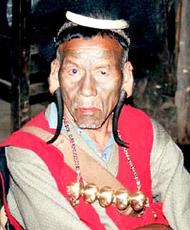 Angami Tribe man