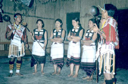 Angami Tribe girls