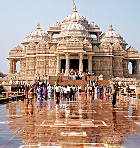 Akshardham Temple Sculptures, Indian Sculpture