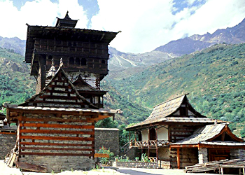 Badrinatha temple at Kamru village in Himachal Pradesh