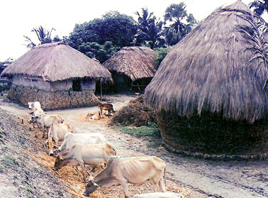 Birbhum Village of West Bengal, Villages of India