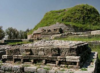 Dharmarajika Stupa Architecture Of Punjab