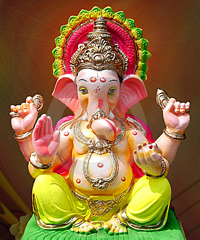 images of ganapati the god who became the principal object of worship ...
