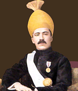 Mir Osman Ali Khan , Nizam  of Hyderabad