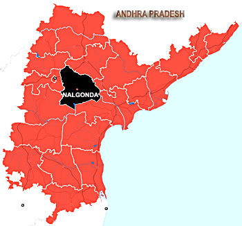 Nalgonda District, Andhra Pradesh