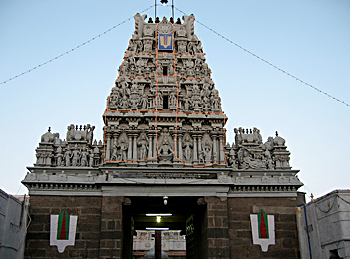 Parthasarathy Temple, Architecture Of Chennai