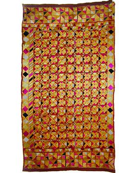 Phulkari shawl