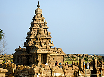 ShoreTemple, Architecture Of Tamil Nadu