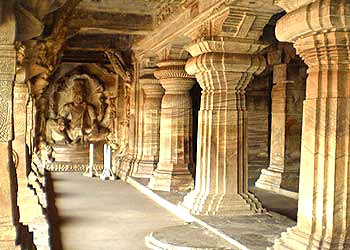 Badami Chalukyas - Pillared Sculpture