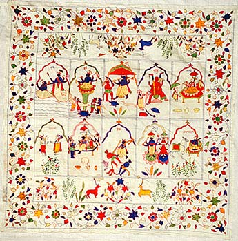 Chamba Rumal - Embroidery of Himachal Pradesh