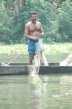 Fishing in Indian Villages