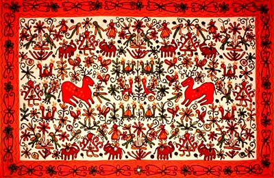 Tapestry - Embroidery of Gujarat