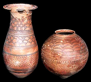 Burial Pottery in Harappan Civilisation