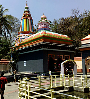 Baneshwar temple in Pune District, Maharashtra