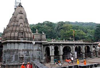 Bhimashankar Temple in Pune District, Maharashtra