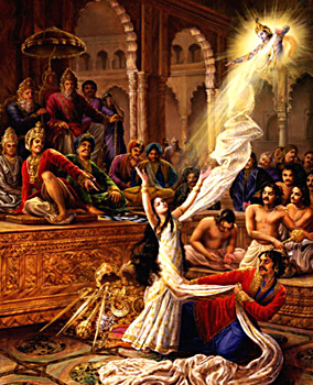 Cheer Haran of Draupadi, Mahabharata