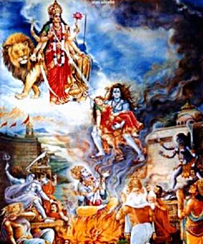 Destruction of Daksha Yajna, Brahma Purana