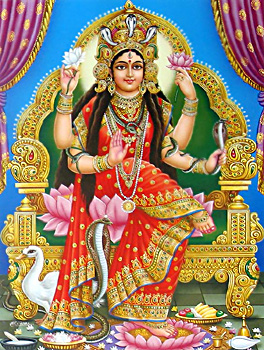Goddess Manasa, Indian Mythology