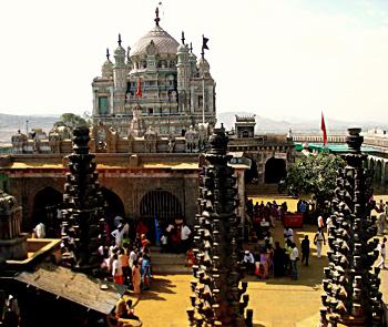 Jejuri temple in Pune District, Maharashtra