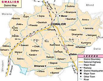 Gwalior District, Madhya Pradesh