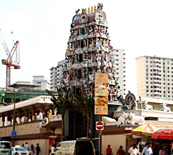 Sri Kottai Mariamman Kovil temple