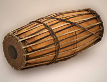 Mridanga, Indian Percussion Instrument