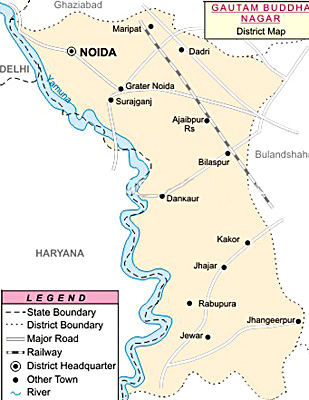 Gautam Budh Nagar District, Uttar Pradesh