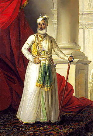 Mohamed Ali Khan Walajan (1717-1795) the Nawab of Arcot