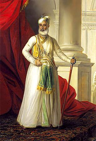 Mohamed Ali Khan Walajan (1717-1795) the Nawab of Arcot