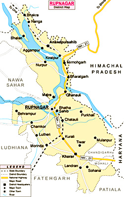 Rupnagar District, Punjab
