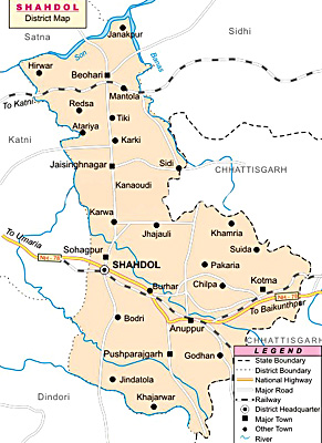 Shahdol District, Madhya Pradesh