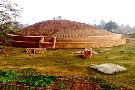 Buddhist Stupa at Chaneti - Ambala , Haryana