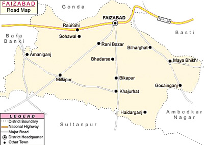 Faizabad District, Uttar Pradesh