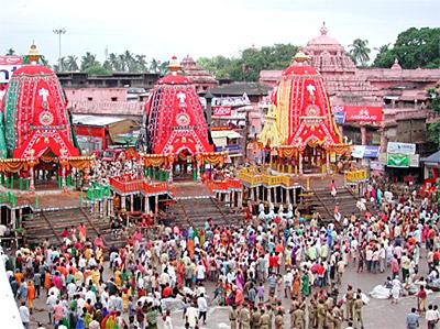 Ratha Yatra - Puri, Orissa