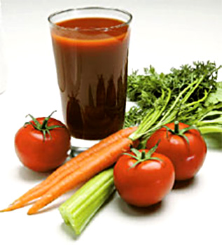 vegetable fruits juice