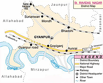 Sant Ravidas Nagar District, Uttar Pradesh