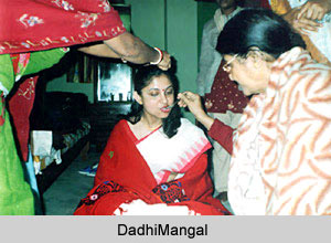 Dadhimangal, Ritual in Bengali Wedding