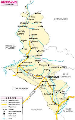 Dehradun District, Uttarakhand