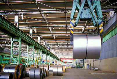 Steel plant warehouse - Salem, Tamil Nadu