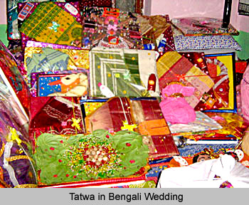 ... is part of one of the many rituals and customs of a Bengali wedding