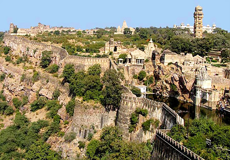 Fort View of Chittorgarh, Rajasthan