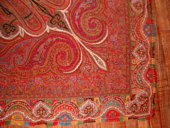 shawls of Kashmir