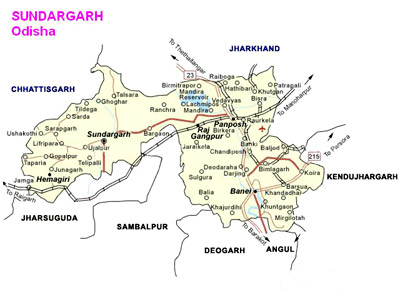 Sundargarh District, Orissa